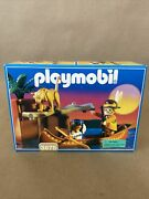 Playmobil 3875 Trackers Canoe Indian Native American Mountain Lion. Brand New