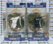Set Beckham Real Madrid 2005 2006 Home Away Ft Champs New Blister 6inch Rare