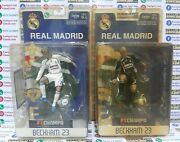 Set Beckham Real Madrid 2006 2007 Home Away Ft Champs New Blister 6inch Rare