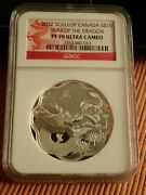 2012 Canada 15 Year Of The Dragon Pf 70 Ultra Cameo