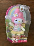 New Rare Sanrio Large My Melody Hello Kitty Friend Poseable 13andrsquo Doll