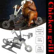 Beer Can Chicken Stand Stainless Steel Beer Chicken Roasting Rack Bbqgrill Us