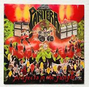 Pantera Projects In... Lp Sealed 1.press 1984 Slayer Metallica Anthrax Megadeth