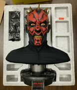 Sideshow Limited Edition Star Wars Darth Maul Life-size Bust 376/1000