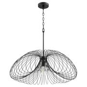 Quorum Lighting 806-30-69 Loopy Loop - 1 Light Pendant In Contemporary Style -