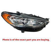 2017-2020 Ford Fusion Right Side Headlight Lamp Halogen W/led Hs7z-13008-g Oem