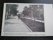 Vintage Section Of Fourth Avenue Brooklyn Middle Highway Scene Photo Postcard