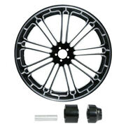 18/21/23/26/30and039and039 Front Wheel Rim Hub Fit For Harley Touring Road King 08-21 Us