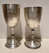 Solid Silver British Raj Army Regimental 1909 Polo Trophies Weight Is 485g