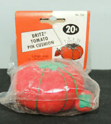 Tomato And Strawberry Pin Cushion Original Package 17199