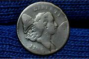 1794 Half Cent C5 Small Edge Letters Nice Brown Vf Details R4