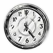 """Joshua Vides Art Reality To Idea Somewhere Round Clock Print 22"""" Sold Out"""