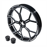 23and039and039 Front Wheel Rim Dual Disc Wheel Hub Fit For Harley Touring Models 08-21 20