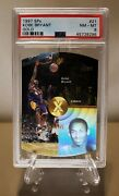 1997 Spx Gold 21 Kobe Bryant Rc Psa 8 Pop 7 With Only 11 Higher