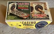 Vtg Marx Electric Casino Table Top Pinball Game Box Only