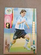 2006 Panini Fifa World Cup Germany Lionel Messi Soccer Trading Card 47