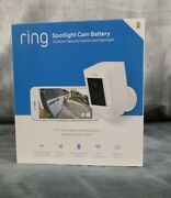 Ring Spotlight Cam Battery Hd Security Camera Two-way Talk Motion Detection New