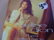 Celine Dion Rare Australian Card Cd Single If You Asked Me To/love You Blind