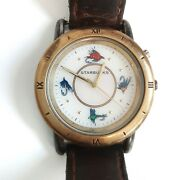 Vintage Starbucks Watch Special Edition Fishing Lure Water Resistant Glow Watch