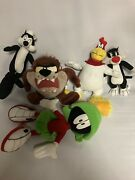 Looney Tunes Sylvester Pepe Le Pew Foghorn Taz Marvin The Martian Lot Vintage 5