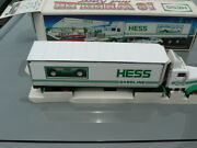 1992 Hess Truck Toy 18 Wheeler And Racer New In Box New Old Stock Nos