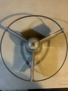 1955 Buick Steering Wheel Power Steering Horn Button Included.