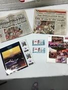 Indy 500 Programs With Tickets And Newspapers 1992 And 1993