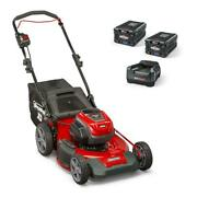 Xd 82-volt Max Cordless Electric 21 In. Lawn Mower Kit With 2 2.0 Batteries