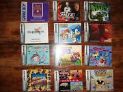 Lot Of 12 Assorted Gameboy And Advance Sp Game Manuals - Final Fantasy Etc