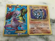 Pokemon Cards Mewtwo Ex Andnbspand Machamp 1st Edition Perfect Conditionandnbsp