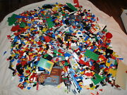 Lego Lot 30 + Lbs Bulk Assorted Loose City Castle Pirates Space Star Wars More