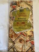 Vintage Gift Wrap Victorian Old Time Christmas Holidays 5 Yards New