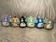 Complete Set 2021 Kentucky Derby Squishmallows Limited Edition With Tags.