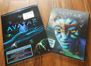 /1802 Avatar 5-disc Limited Edition Slipcover 2d 3d And Extended Blu-ray Dvd Lot