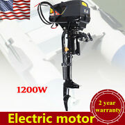 48v Electric Outboard Motor Fishing Boat Engine Electric Trolling Motor Us