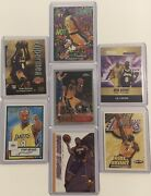 Kobe Bryant 7 Card Lot Including Topps Chrome Rookie Rp 138 Investment Rare