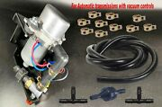 Brake Booster Rotary Vacuum Pump-12 V Plug And Play W/install Kit For Auto Trans