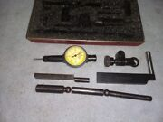 Starrett 711-t1 Last Word Dial Indicator With Case .0001 Machinist Tool