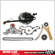 Timing Chain Kit Water Pump Fan Clutch Fit Ford Explorer Mercury Mountaineer 4.0