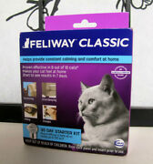 Feliway Classic 30 Day Starter Kit Plug-in Diffuser And Refill Exp April 2022