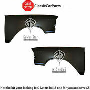 1957 Chevrolet Chevy Fenders W/o Hole 210 150 One Fifty Bel Air Tri-five +