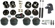 3/8 Front Rear Aimaxxx 2600 Air Ride Suspension Bag Shock Kit For 1963-64 Cadi