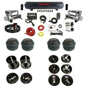 Complete Bolt On Air Ride Suspension Kit W/manifold And 580 Chr For 65-70 Cadillac
