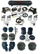 Complete Air Ride Suspension Kit 27685 3/8 3p Air Lift Blk 480 For 65-70 Impala