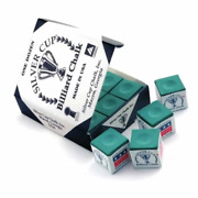 Silver Cup Billiard Cue Chalk - 12 Boxes Of 12 Gross 144
