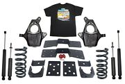 4 Front 6 Rear Suspension Lowering Drop Kit For 1999-06 Silverado 1500 V6 Only