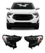 For 18 20 Gmc Terrain Set Pair Hid Xenon Headlights Lamps Replacement