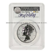 2019-w 25 Reverse Proof Palladium Eagle Pcgs Pr70 First Day Of Issue Whitley
