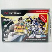 Pocket Kingdom Own The World N-gage Complete W/ Case And Manuals