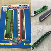 Thomas And Friends Henry Red Express Coach 93805 Tomix N Scale Tomytech Motor Ok
